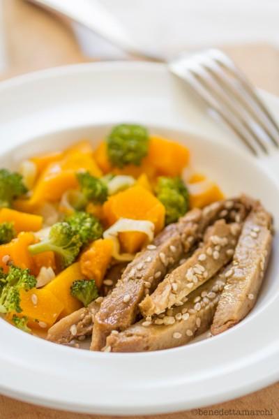 straccetti-di-seitan-con-verdure-al-vapore